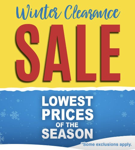 Lowest Prices of the Season!