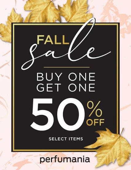 Buy One Get One 50% Off Select Items