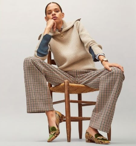 Wear to Work: The Loafer from Tory Burch