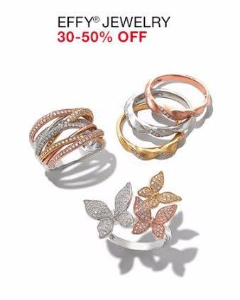 Effy Jewelry 30-50% Off