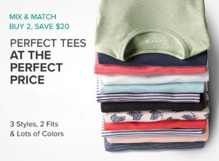 Buy 2, Save $20 Women's Tees from Orvis