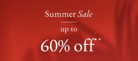 Up to 60% Off Summer Sale from Abercrombie & Fitch