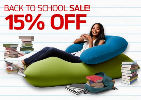 Back To School SALE from Yogibo