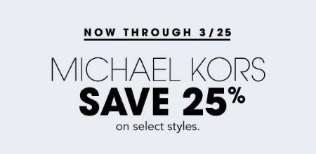 1dd1e4e23e7a Sale at Bloomingdale s. 25% Off Michael Kors