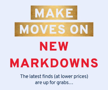New Markdowns Are Here from Marshalls