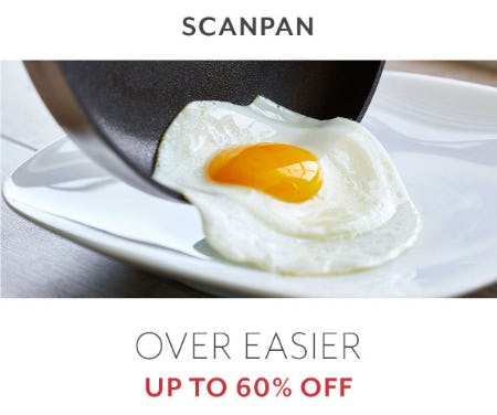 Up to 60% Off Scanpan