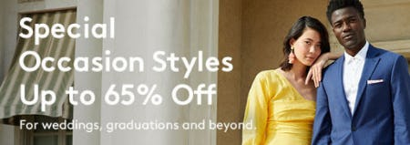 Up to 65% Off Special Occasion Styles
