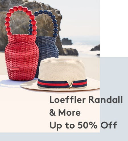Up to 50% Off Loeffler Randall & More from Nordstrom Rack