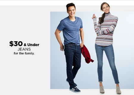 $30 & Under Jeans from Kohl's