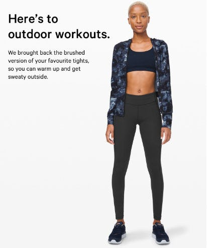 Here's to Outdoor Workouts from lululemon