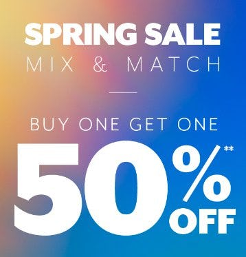 Buy One, Get One 50% Off from PacSun