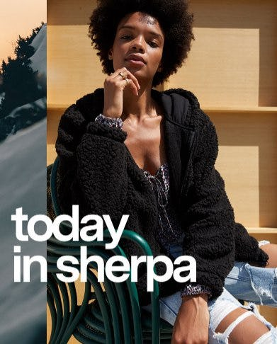 Sherpa Jackets are Here